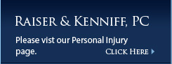 Please visit our personal injury page